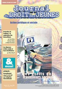 Journal du droit des jeunes 2001/3