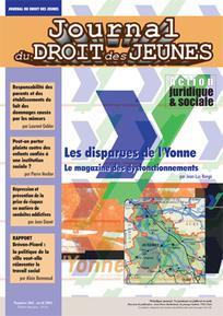 Journal du droit des jeunes 2001/4