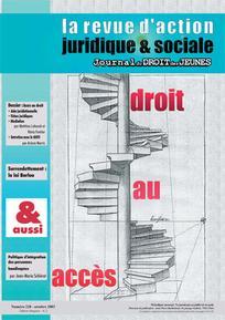 Journal du droit des jeunes 2003/8
