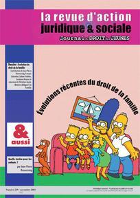 Journal du droit des jeunes 2003/9
