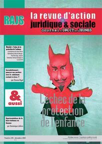 Journal du droit des jeunes 2003/10