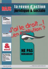 Journal du droit des jeunes 2004/5