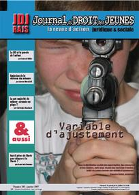 Journal du droit des jeunes 2007/1