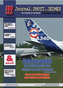 Journal du droit des jeunes 2007/2