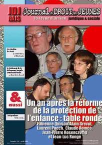 Journal du droit des jeunes 2008/4