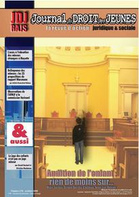 Journal du droit des jeunes 2008/8