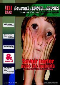 Journal du droit des jeunes 2008/10