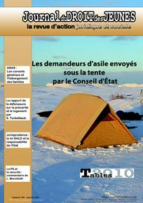 Journal du droit des jeunes 2011/1