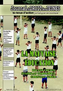 Journal du droit des jeunes 2011/4