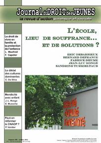 Journal du droit des jeunes 2011/8