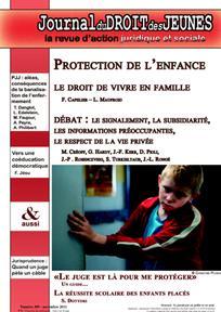 Journal du droit des jeunes 2011/9
