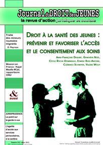 Journal du droit des jeunes 2012/3
