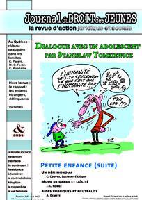 Journal du droit des jeunes 2012/5