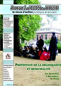 Journal du droit des jeunes 2012/6