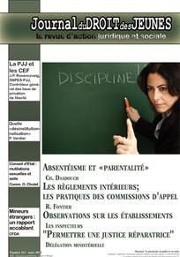 Journal du droit des jeunes 2013/3
