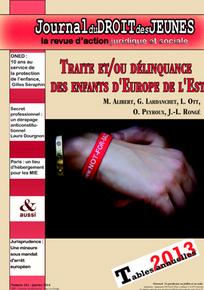 Journal du droit des jeunes 2014/1