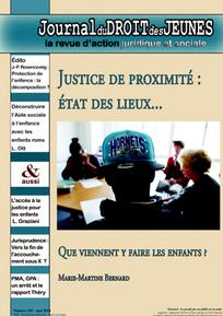 Journal du droit des jeunes 2014/5