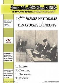 Journal du droit des jeunes 2015/2