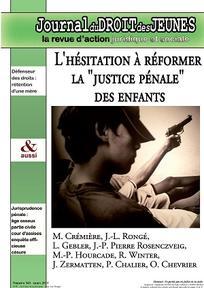Journal du droit des jeunes 2015/3