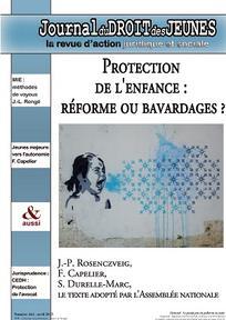 Journal du droit des jeunes 2015/4