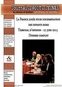 Journal du droit des jeunes 2015/7