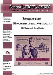 Journal du droit des jeunes 2015/10