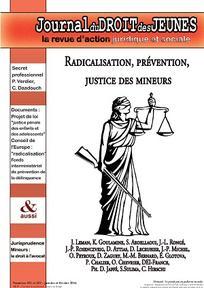 Journal du droit des jeunes 2016/1