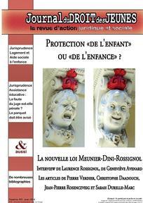 Journal du droit des jeunes 2016/3