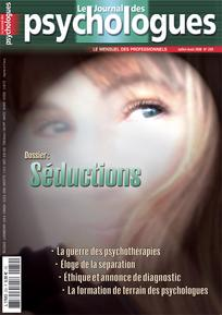 Le Journal des psychologues 2008/6