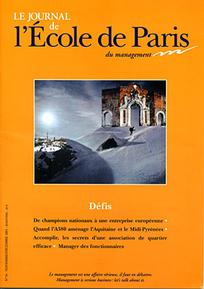 Le journal de l'école de Paris du management 2005/6