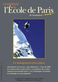 Le journal de l'école de Paris du management 2008/1