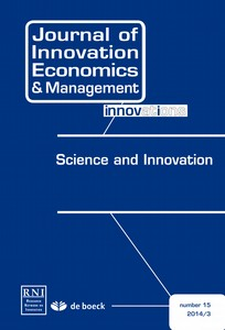 Journal of Innovation Economics & Management 2014/3