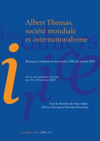 Les cahiers Irice 2008/2