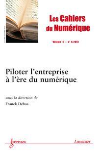 Les Cahiers du numérique 2010/4