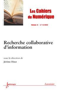 Les Cahiers du numérique 2012/1