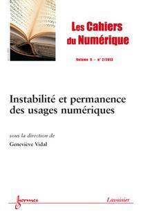 Les Cahiers du numérique 2013/2
