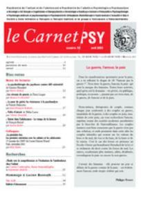 Le Carnet PSY 2003/3