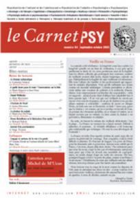 Le Carnet PSY 2003/7