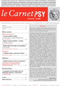 Le Carnet PSY 2004/4