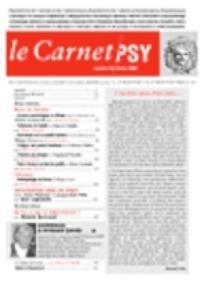 Le Carnet PSY 2005/1