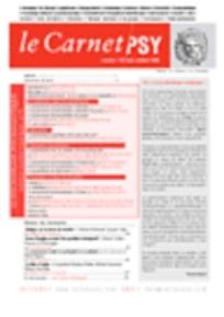 Le Carnet PSY 2005/7