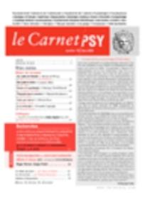 Le Carnet PSY 2006/2