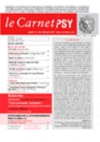 Le Carnet PSY 2006/9