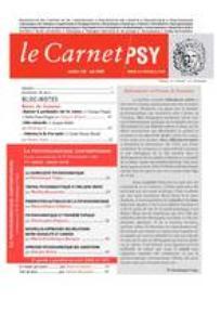 Le Carnet PSY 2008/4