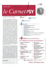 Le Carnet PSY 2012/1