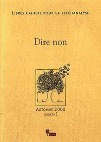 Libres cahiers pour la psychanalyse 2000/2