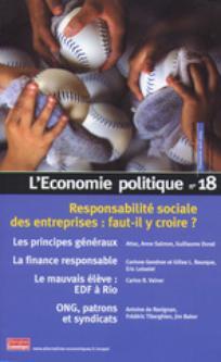 L'Économie politique 2003/2