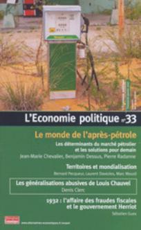 L'Économie politique 2007/1