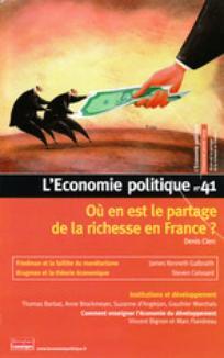 L'Économie politique 2009/1