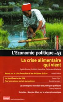 L'Économie politique 2009/3